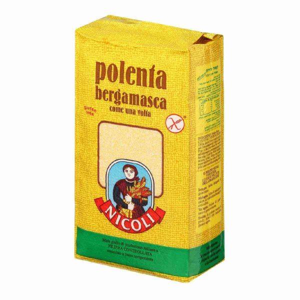 Мука BERGAMASCA Кукурузная Полента 1 кг