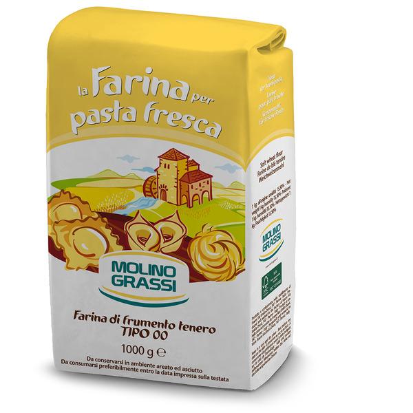 Мука из мягких сортов пшеницы MOLINO GRASSI 1 кг