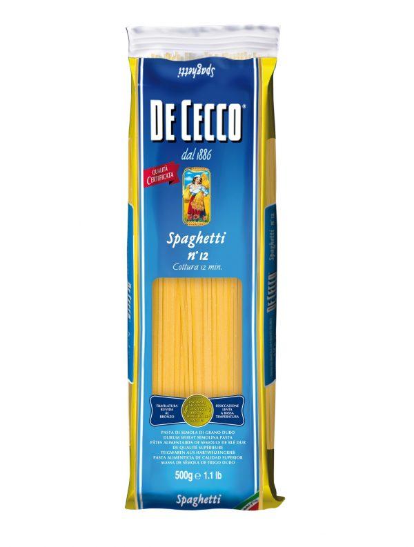 Паста DE CECCO №12 Spagetti 500 г