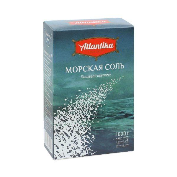 Соль Морская Крупная ATLANTIKA 1 кг