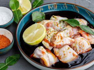Шашлык в маринаде из азитского соуса терияки и цитрусовыми корками